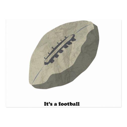 ¡Es un fútbol! Postales