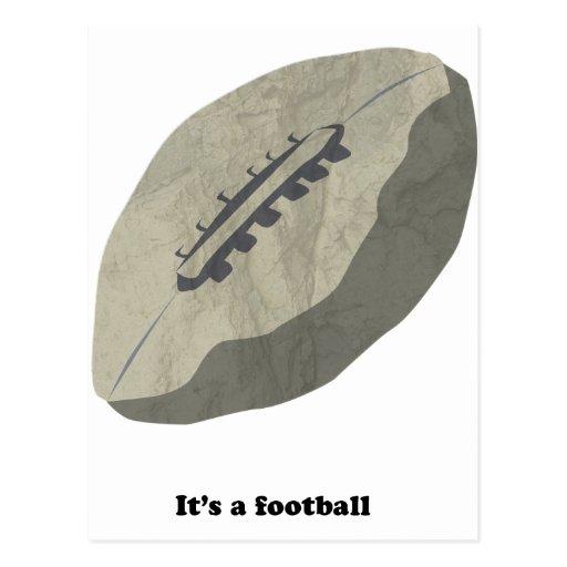 ¡Es un fútbol! Postal