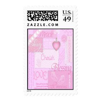 Es un girl4 timbres postales