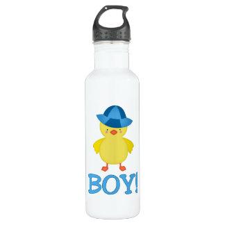 Es un gorra del azul de Duckie del bebé