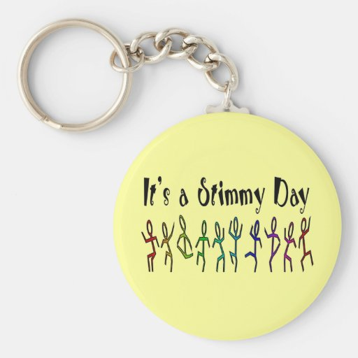 Es un llavero del día de Stimmy