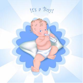 ¡Es un muchacho! Escultura Fotografica