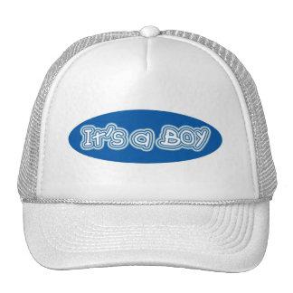Es un muchacho gorras