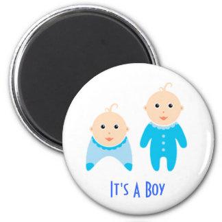Es un muchacho: Imán recién nacido del bebé