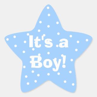 ¡Es un muchacho! Pegatina