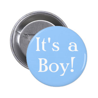 ¡Es un muchacho! Pin Redondo 5 Cm