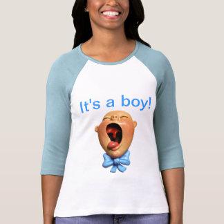 ¡Es un muchacho! Camisetas