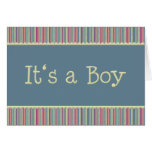 Es un muchacho tarjeta