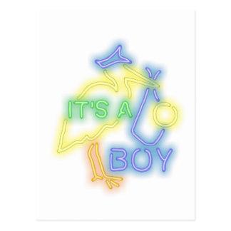 Es un muchacho postal