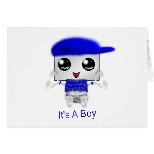 Es un muchacho tarjetón