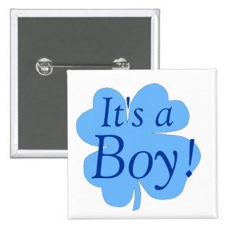 """Es un muchacho!"" - (trébol/trébol) [2] Pins"