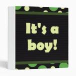 ¡Es un muchacho! Verdes de la oscuridad del diseño