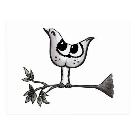 ¡Es un pájaro… que es un gato! - Ilusión óptica Postales