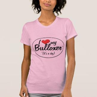 ¡Es un perro! Amo mi Bulloxer Camisetas