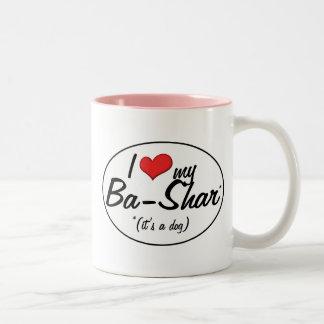 ¡Es un perro Amo mis Vagos-Shar Tazas De Café