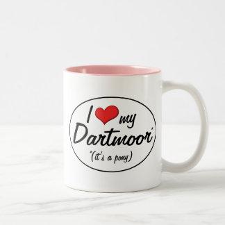¡Es un potro! Amo mi Dartmoor Taza
