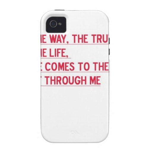 Es un regalo aseado. Y un tal verso verdadero iPhone 4/4S Carcasa