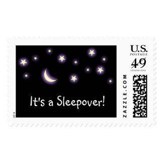 ¡Es un Sleepover! sello
