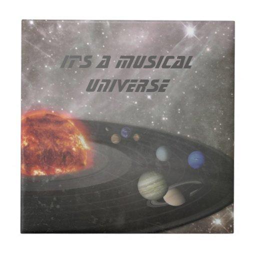 Es un universo musical azulejo