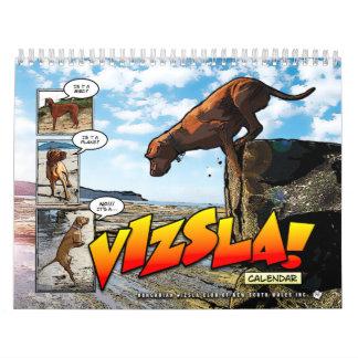 ¡Es un Vizsla! Calendario 2015