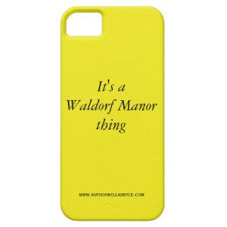 Es una caja del teléfono del mantra del señorío de iPhone 5 coberturas