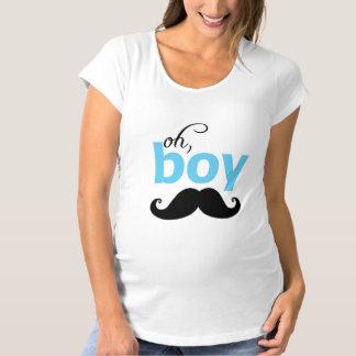 Es una camiseta de la maternidad de la fiesta de polera