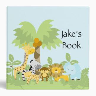 Es una carpeta de la foto del bebé de la selva