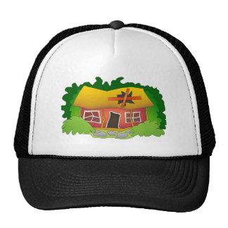 Es una casa que necesita reparaciones gorras