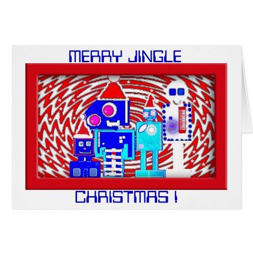 Es una clase del robot de tarjeta de Navidad