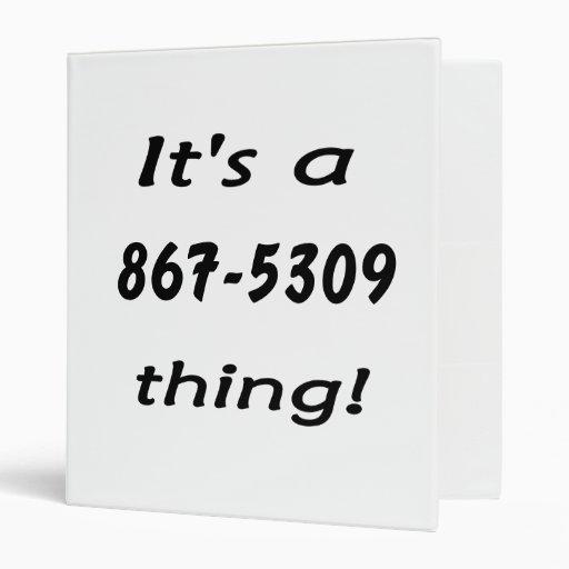 """es una cosa 867-5309 carpeta 1"""""""