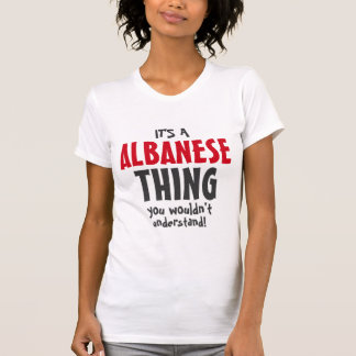 Es una cosa de Albanese que usted no entendería Camisas