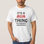 Es una cosa de Ava que usted no entendería Camisas