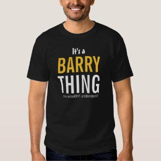 Es una cosa de Barry que usted no entendería Remeras