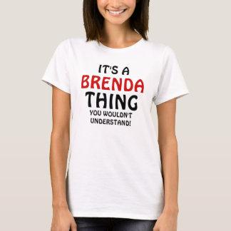 Es una cosa de Brenda que usted no entendería Playera