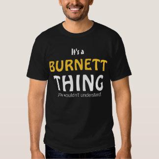 Es una cosa de Burnett que usted no entendería Playera