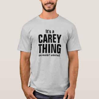 Es una cosa de Carey que usted no entendería Playera