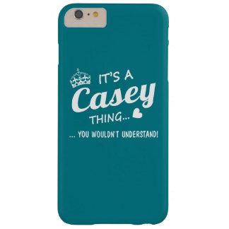 Es una cosa de CASEY Funda Para iPhone 6 Plus Barely There