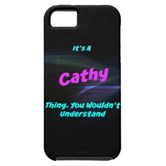 Es una cosa de Cathy. ¡Usted no entendería! iPhone 5 Carcasas