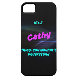 Es una cosa de Cathy. ¡Usted no entendería! iPhone 5 Funda