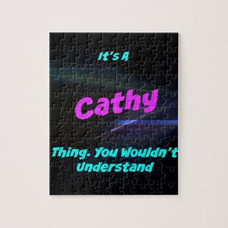 Es una cosa de Cathy. ¡Usted no entendería! Puzzle Con Fotos