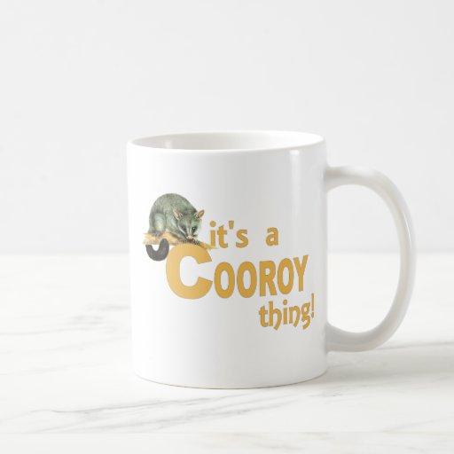 Es una cosa de Cooroy Taza