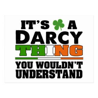 Es una cosa de Darcy que usted no entendería Postal