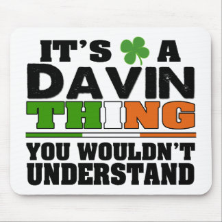 Es una cosa de Davin que usted no entendería Mousepad