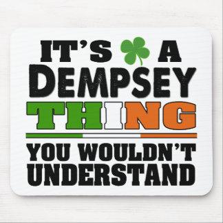 Es una cosa de Dempsey que usted no entendería Alfombrilla De Raton