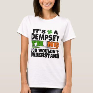 Es una cosa de Dempsey que usted no entendería Playera