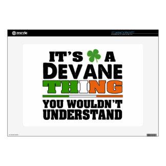 Es una cosa de Devane que usted no entendería Calcomanías Para 38,1cm Portátiles