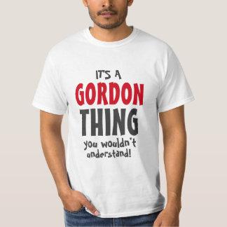 Es una cosa de Gordon que usted no entendería Camisas