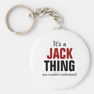 Es una cosa de Jack que usted no entendería Llavero Redondo Tipo Pin