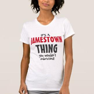 Es una cosa de Jamestown que usted no entendería Poleras