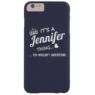 Es una cosa de Jennifer Funda De iPhone 6 Plus Barely There
